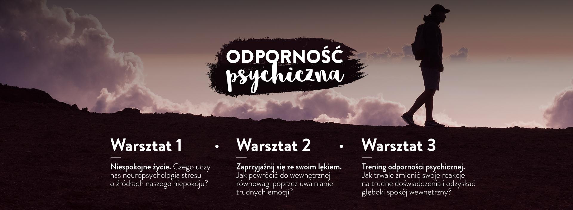 Warsztat online - Odporność psychiczna 2