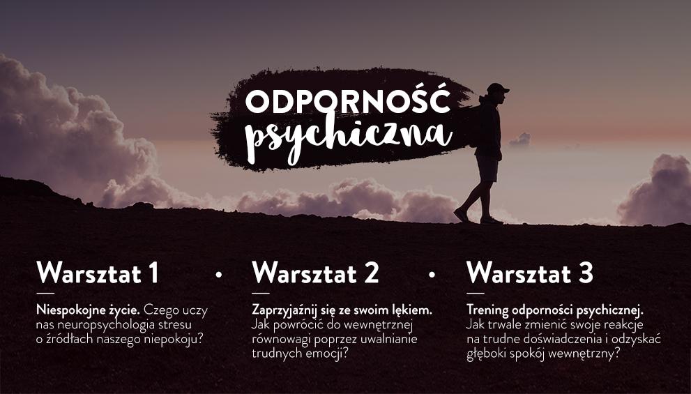 Warsztat online - Odporność psychiczna 3